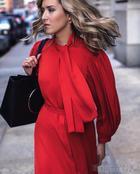 20 стильных образов с модными платьями 2017