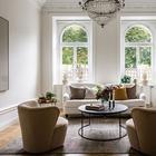 Классика и скандинавский стиль в шведской квартиры
