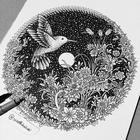 Обман зрения: гипнотические объёмные иллюстрации от камбоджийского художника Висота Каквея