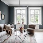 Великолепный цвет для небольшой квартиры