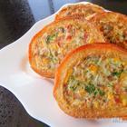Просто спрячьте начинку внутрь / Фаршированные гренки на завтрак / Быстрый завтрак