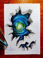 Невероятные 3D-рисунки талантливого художника Жоао Карвальо