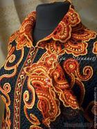 Вяжем крючком оригинальный жакет с коловратами в цветах хохломской росписи