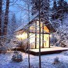 Домик мечты на острове Хийумаа в Эстонии