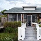 Небольшой, но душевный пляжный домик в США