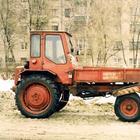 Трактор Т-16 - необычное самоходное шасси передним грузовым отсеком