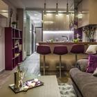 Яркий интерьер двухкомнатной квартиры 53,7 м2