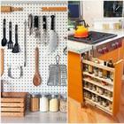 Идеи хранения для маленькой и тесной кухни