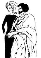 Иллюстрации к «Мастеру и Маргарите»  Рисунки Нади Рушевой