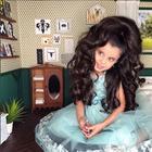 Рапунцель из Тель-Авива: Маленькая девочка покорила Инстаграм своей роскошной шевелюрой