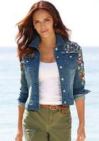 Изумительные идеи декора джинсовой одежды