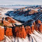 Зимний Кыргызстан — страна небесных гор
