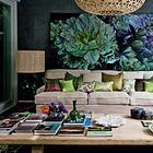 Уникальный цветочный интерьер дома художницы Marcella Kaspar