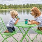 Собака — лучший друг человека. Мальчик и щенок не расстаются даже во сне