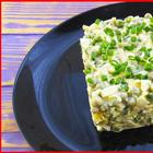"""Салат """"Чайка"""" за 5 минут! Вкусно, быстро и просто!"""