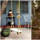 10 качелей для сада, которые можно сделать своими руками