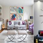 Как легко и просто украсить стену над диваном