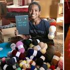 История успеха: тысячи людей наблюдают за тем, как сирота из Эфиопии вяжет