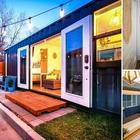 Молодая пара обустроила дом своей мечты в обычном грузовом контейнере
