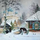 """Александр Александровский.Часть 2-я """"Белым снегом укрылась Россия"""""""