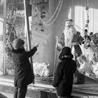Новогодние витрины СССР