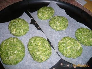 Рецепт приготовления котлеток из брокколи.
