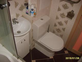 """Ванная: совмещенный санузел на 2,9 """"квадратах"""""""