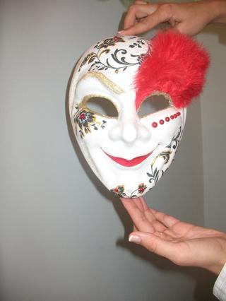Мастер класс: делаем венецианские маски в технике декупаж
