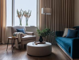 Спокойный интерьер квартиры в Москве
