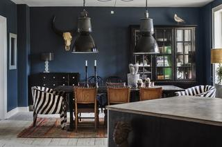 Смешение стилей в интерьере в Дании