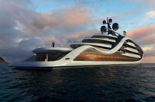 Самое дорогое судно в мире: британский дизайнер представил проект суперяхты стоимостью £500 млн.