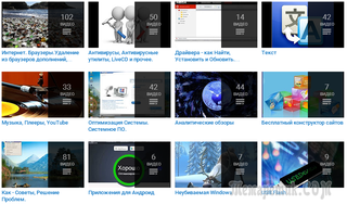 Мои видео на компьютерную тематику по категориям в Комментариях под этим видео