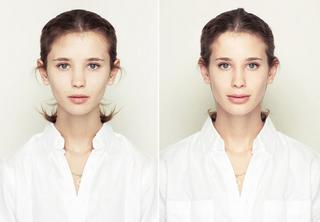 Как бы выглядели люди, если бы их лица были абсолютно симметричны