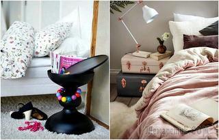 Незаурядная деталь: 18 чудесных прикроватных тумбочек, которые станут настоящей изюминкой спальни