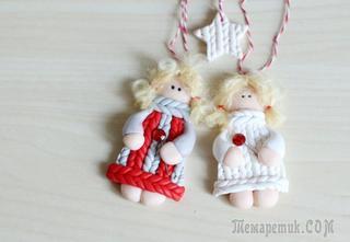 Делаем очаровательного рождественского ангела
