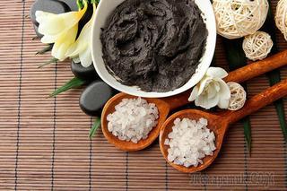 Черная глина для красоты кожи