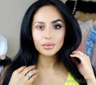 19 красавиц показали половину своего лица без макияжа. Невероятно, на что способна косметика!