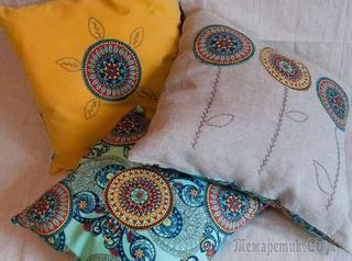 Как сшить подушку на диван своими руками: идеи и технология