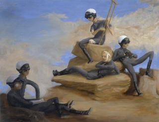 Фигуративная живопись: необычные сюжеты и гротескно-комичные образы