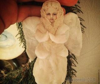 Создаем ватную игрушку «Рождественский ангел»