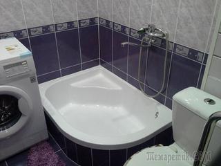 Фото идей дизайна маленькой ванной комнаты