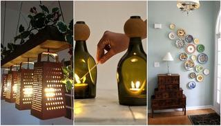 Невероятные поделки для дома из кухонных принадлежностей