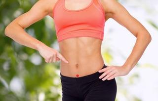 Воздействуя на эту точку можно избавиться от лишнего веса
