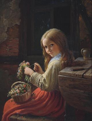 Художник Johann Georg Meyer von Bremen (1813-1886)
