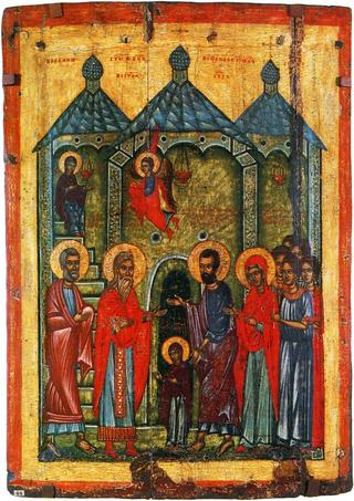 Храм, в который вошла Богородица, или место встречи Ветхого и Нового Завета