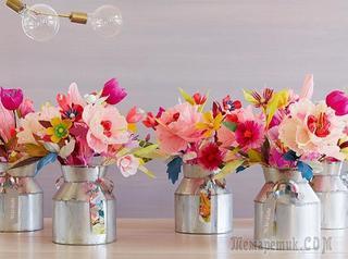 Как сделать цветы из бумаги своими руками: мастер-классы и фото готовых шедевров