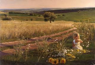 Деревенская жизнь на картинах художника Андрея Подшивалова