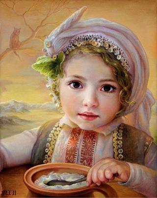 Мария Илиева, болгарская художница и ее женские образы