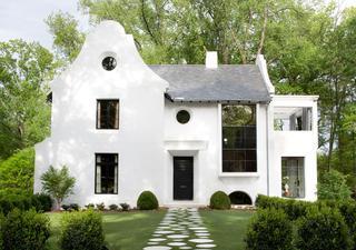 Очень стильный дом для семьи дизайнера