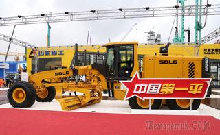 Новый автогрейдер SDLG G9260